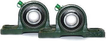 Gehäuselager Lagerbock 2 Stück UCP 204 für 20 mm Welle Stehlager