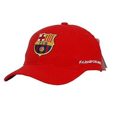 1750307ca04e5 prom Star Barcelona Football Cap para hombre y mujer algodón Dos tipos  Colores Varios Extremos