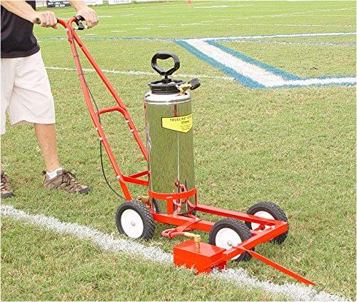 (Soccer/Football Striper Model 20 Trueline Striper with 4 gallon paint tank/Hand Pump)
