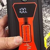 800A Corrente di Picco 15,000mAh Avviatore Batteria Auto//Moto Adatta per Motore Benzina Fino a 3L Diesel 7.5L Torcia Incorporata careslong Avviatore Emergenza per Auto accumulatore di energia