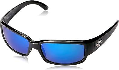 NEW Costa Del Mar CABALLITO White /& Black 580 Blue Mirror Glass 580G