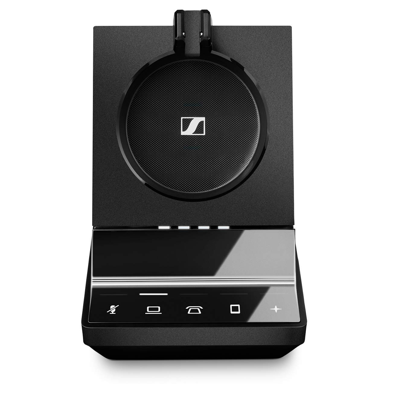 Sennheiser SDW 5036 (507020) - Single-Sided (Monaural) Wireless Dect Headset for Desk Phone Softphone/PC & Mobile Phone Connection Dual Microphone Ultra Noise Cancelling, Black by Sennheiser Enterprise Solution (Image #4)