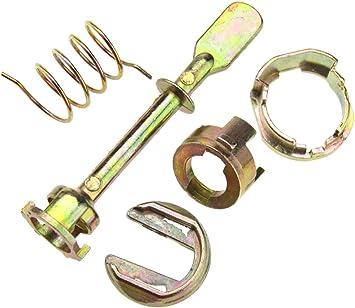 Juego de reparación de 5 piezas, cerradura cilíndrica de puerta ...