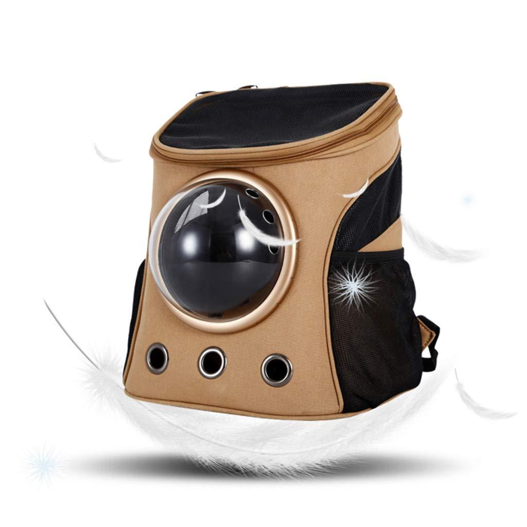 QIQI Portable Dog Travel Backpack Outdoor Breathable Pet Carrier Handbag Travel Dog Cat Bag