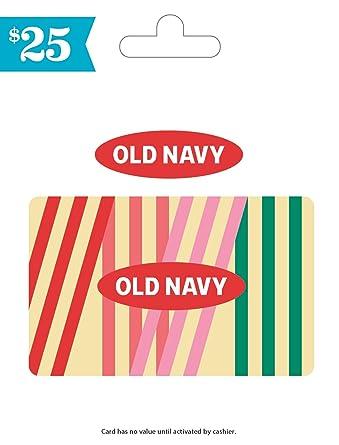 Amazon.com: Tarjeta de regalo de Old Navy: Tarjetas de regalo