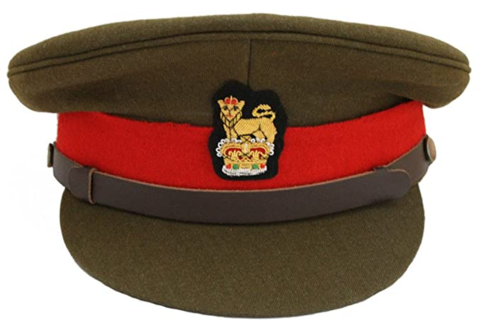British Army Staff Officers Peak Cap Colonel   Brigadier  Amazon.co ... d6e837ae347