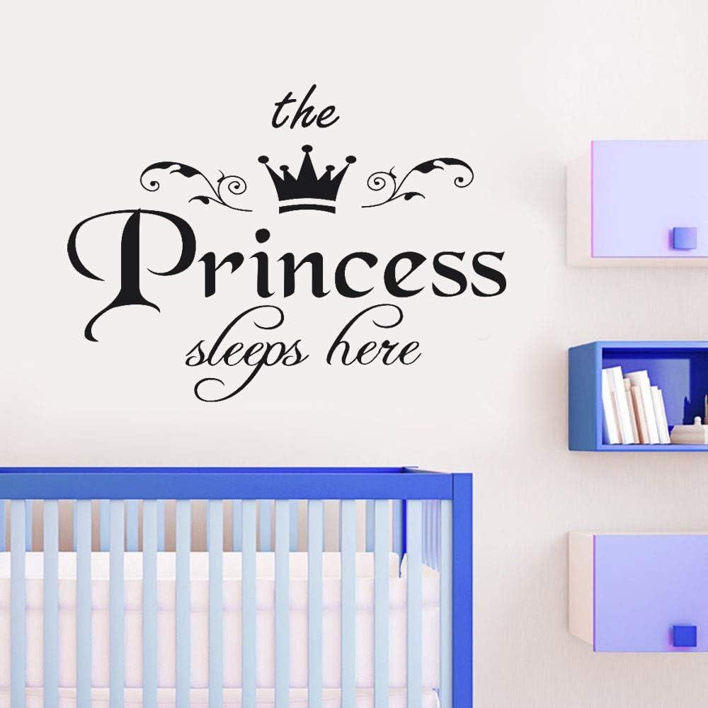 YWLINK The Princess Decal Dormitorio De La Sala Vinilo Talla ...