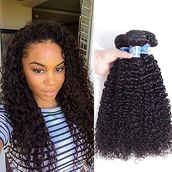 Amazon Com Afro Kinky Curly Hair 3 Bundles 8 10 12 Inch Malaysian