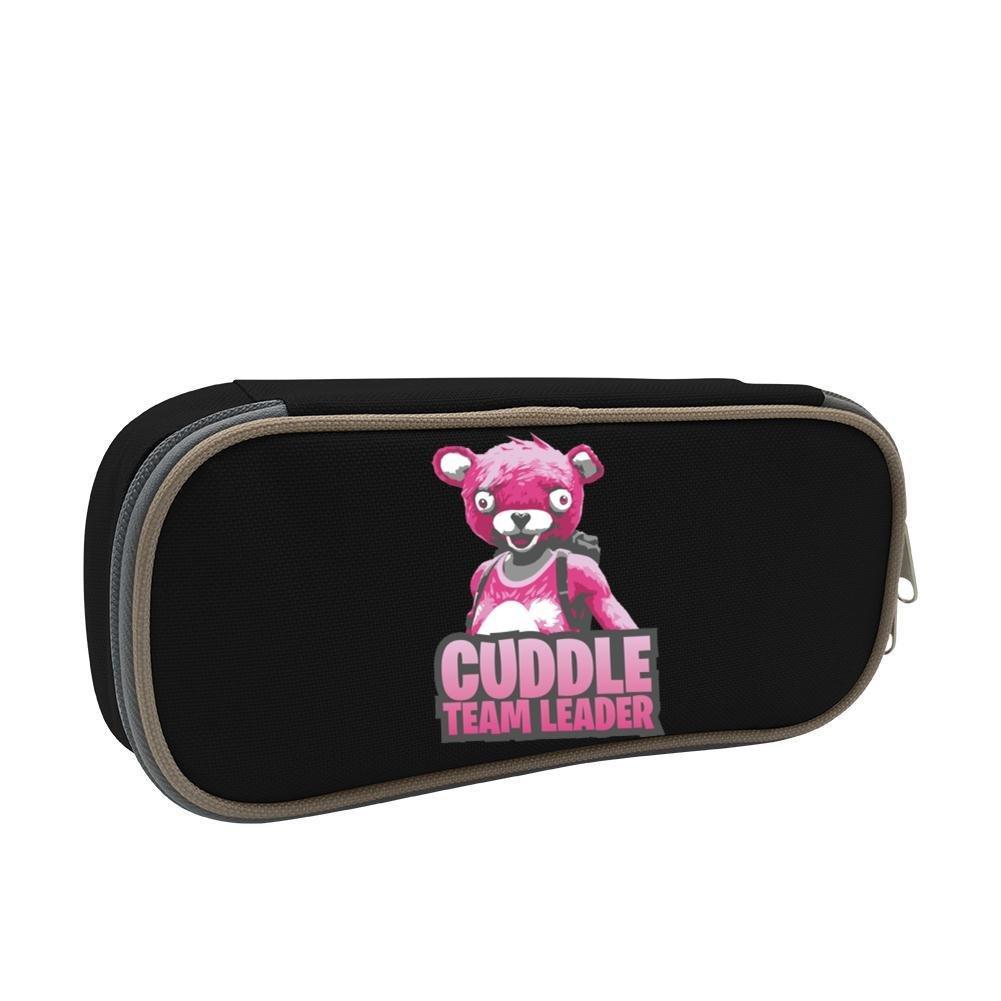 Estuche para lápices Fortnite rosa oso de gran capacidad ...