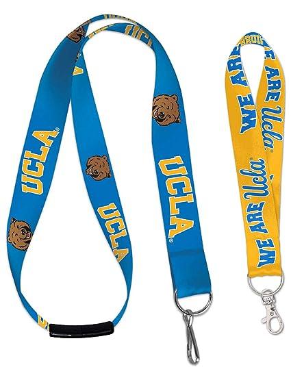 Amazon.com: WinCraft Pack 2 artículos UCLA Bruins 1 cordón ...