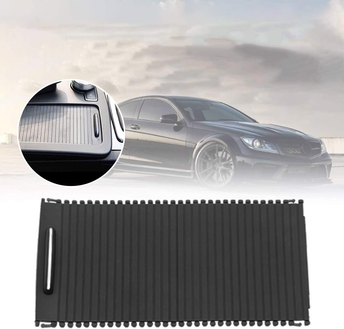 Tuneway Estor enrollable para consola central interior de coche para Mercedes C-Calss W204 S204 Clase E W212 S212 A20468076079051