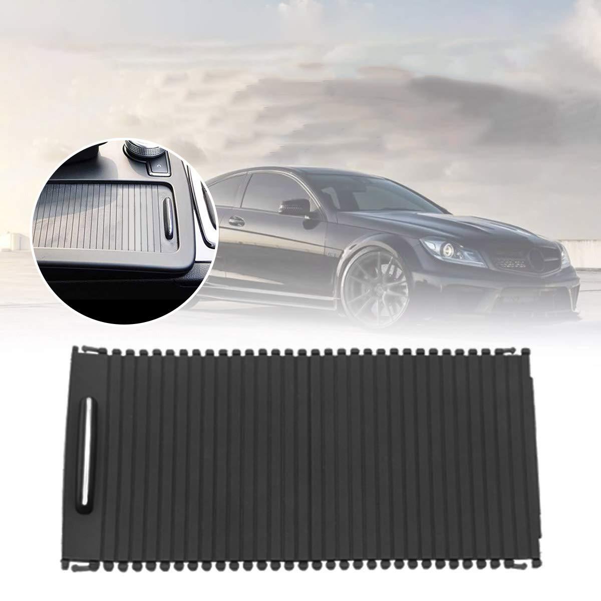 XZANTE Cubierta Interior del Rodillo De La Consola Central Interior del Automovil para Mercedes Clase C W204 S204 Clase E W212 S212 A20468076079051