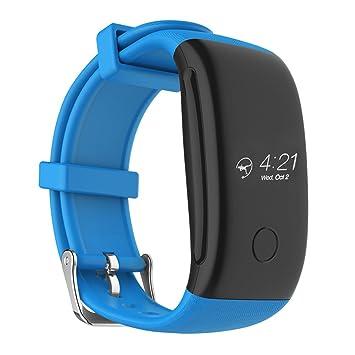 Kivors Pulsera Actividad Inteligente, Pulsera Inteligente con Fitness Tracker, Pulsometros, Monitor de Calorías, Monitor de Dormir, Recordatorio ...