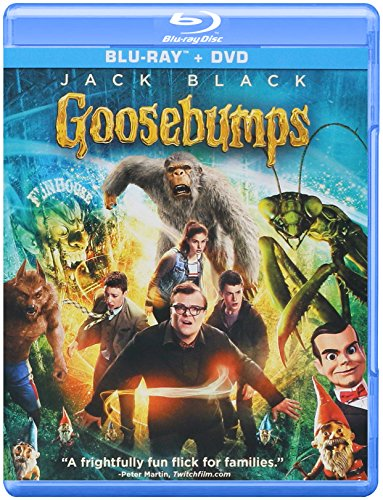 Goosebumps (Blu-ray + DVD) -
