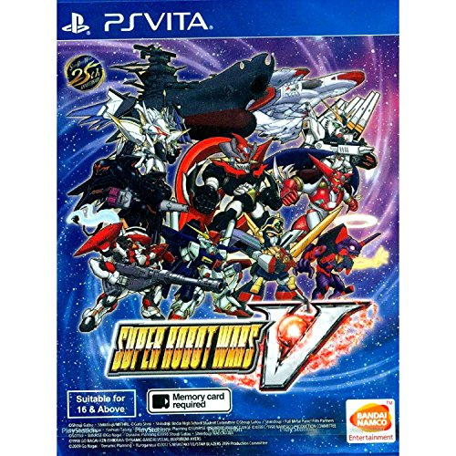 Super Robot Wars V (English Subs) for PlayStation Vita [PS Vita] by Namco Bandai Games