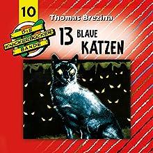 13 blaue Katzen (Die Knickerbocker-Bande 10) Hörspiel von Tomas Kröger, Thomas Brezina Gesprochen von: Douglas Welbat, Tobias Schmidt, Stephanie Kirchberger, Lotte Bublitz, Tobias Pippig