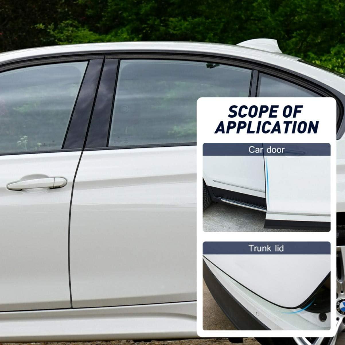 GARNECK Protezioni per Bordi delle Portiere per Auto Strisce di Tenuta Visibili Resistenti Ai Graffi Antiurto Protezioni per Bordi della Custodia per Auto SUV