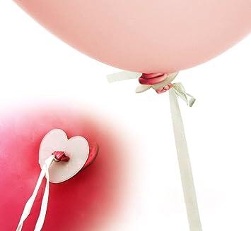 100 STK Helium Balloon Schnellverschluss Luftballons Ballon-Band Luftballon