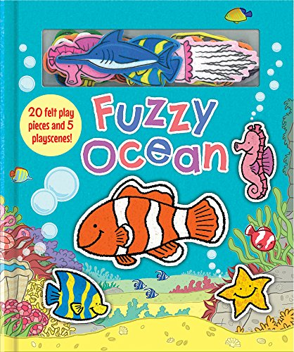 Ocean Animals (Soft Felt Play Books)