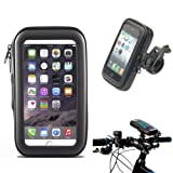 Waterproof Bike Frame Bag Bicycle Handlebar Cellphone Case Cover Mount Holder Cradle For iPhone 7 6s 6 Samsung Galaxy S6/S7/S8 S7 Edge Huawei P10 etc.