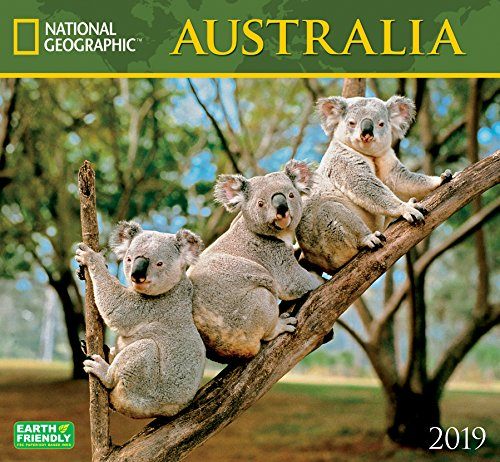 - National Geographic Australia 2019 Wall Calendar