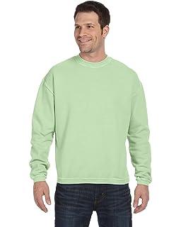 a5a179cfea7 Authentic Pigment 11561 11 oz. Pigment-Dyed Ringspun Cotton Fleece Crew