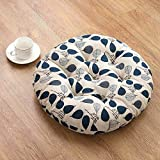 CCYYJJ Tatami Cushions,Circular Cushion Large Mirrors For The Office Chairs Thick Marble Seat-K 50X50Cm (20X20Cm)