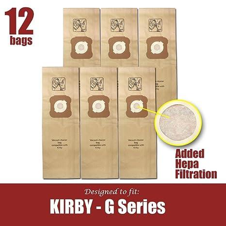 Amazon.com: Kirby bolsas de aspiradora generación G3, G4, G5 ...