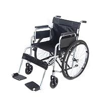 Xiaolong All AID Footrest Self Propelled Folding Lightweight Transit Comfort Wheelchair (Silver)
