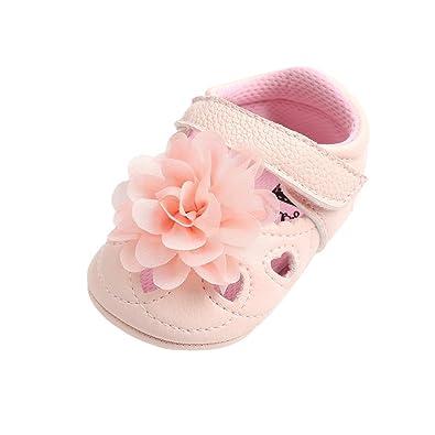 more photos 81783 720ea Auxma Baby Mädchen Sandalen, Neugeborenes Baby Blumen Liebe ...
