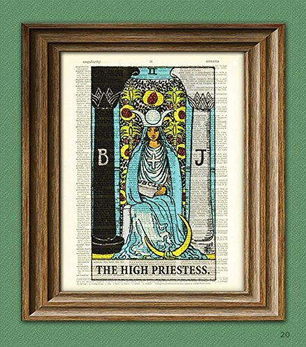 the-high-priestess-major-arcana-tarot-card-deck-print-over-an-upcycled-vintage-dictionary-page-book-