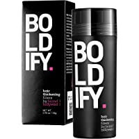 BOLDIFY Hair Fibers for Thinning Hair (AUBURN) 100% Undetectable Natural Fibers...