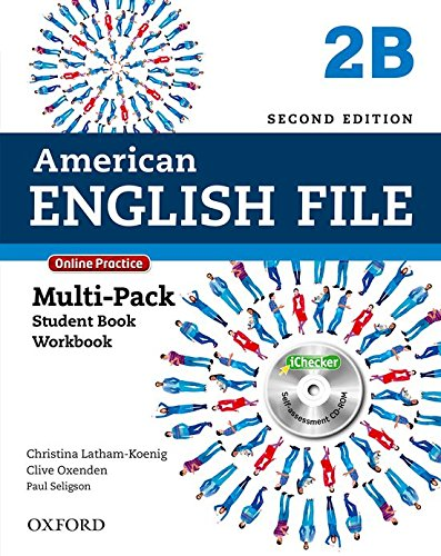 American English File: Am English File 2B Multipk W Online Pract And Ichecker 2Ed