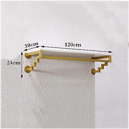 Amazon.com: Perchero dorado para colgar en la pared con ...