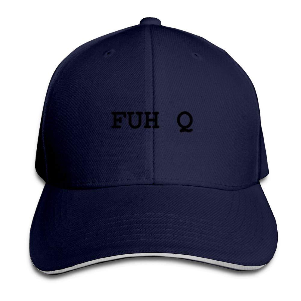 BUSEOTR FUH Q Baseball Caps Adjustable Back Strap Flat Hat