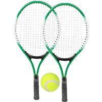ROSEBEAR Raquetas de Tenis de Aleación de Hierro para Niños Raquetas de Práctica para Principiantes con Pelota Y Bolsa…