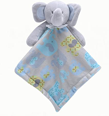 Baby Comforter Teething Blanket Soft Soothing Toddler Security Blanket
