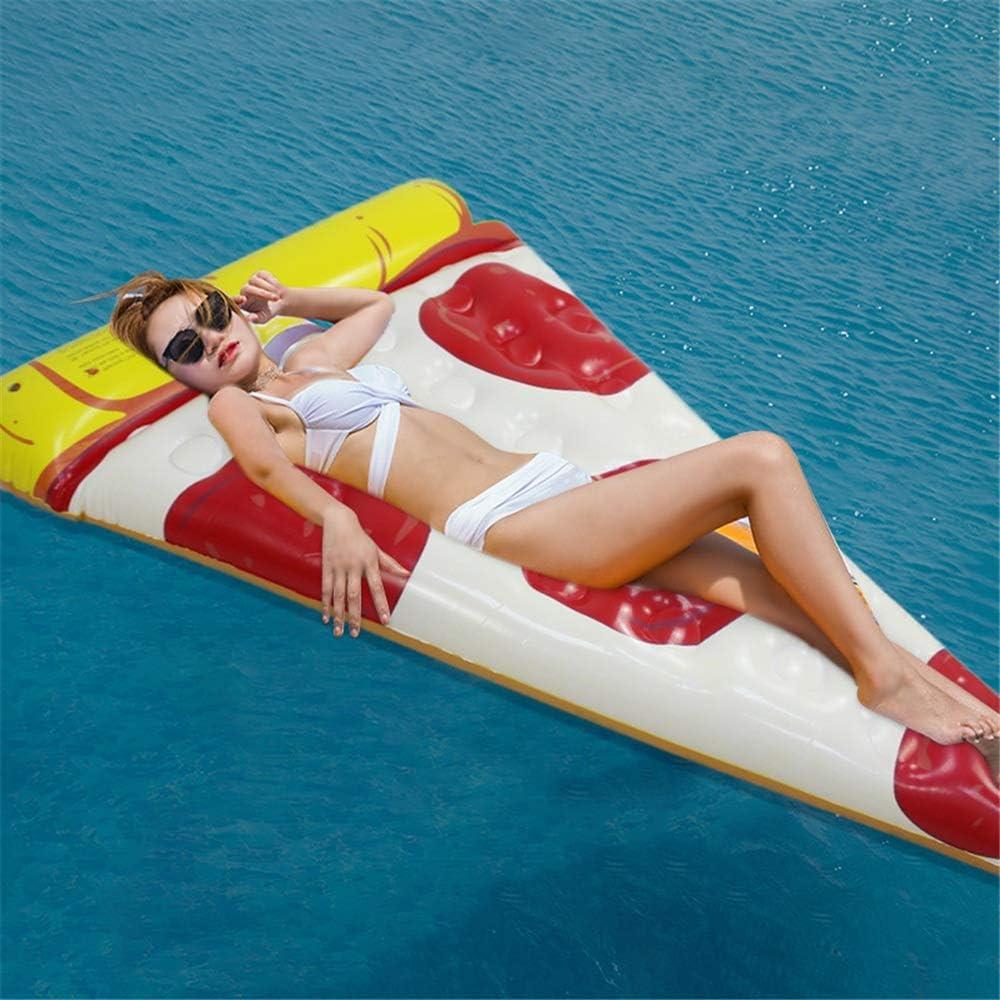 Flotador Inflable de la Piscina Giant Balloon Pizza Pool Float ...