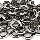 C.S. Osborne Nickel Plated Grommets & Spur Washers #N2-3 (Size 3) 144 Sets