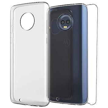 5efd80a6441 TBOC Funda para Motorola Moto G6 Plus - Moto G6+: Amazon.es: Electrónica