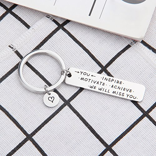 ENSIANTH Coworker Retirement Gift Coworker Keychain Going Away Gift for Retired Colleague Best Friends (Coworker Keychain) by ENSIANTH (Image #4)