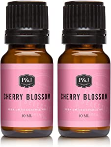Cherry Blossom Fragrance Oil - Premium Grade Scented Oil - 2pk of 10ml
