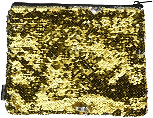 Style.Lab by Fashion Angels Magic Sequin Pouch - Gold/Silver