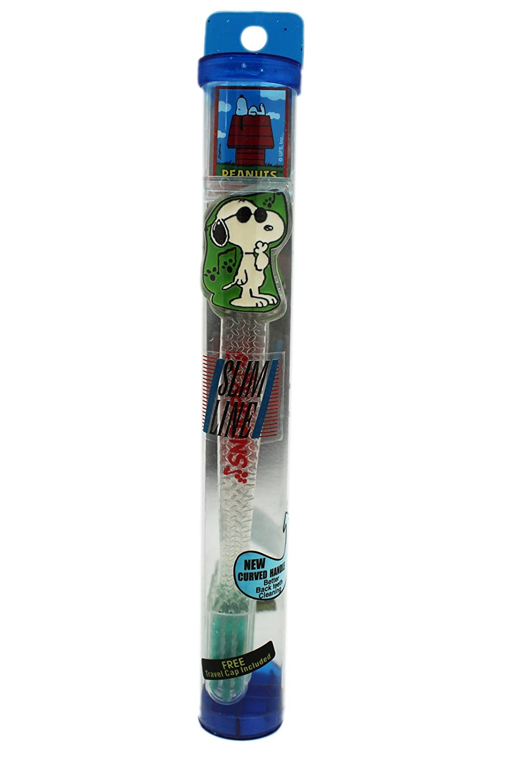 Green Joe Cool Snoopy Peanuts Toothbrush