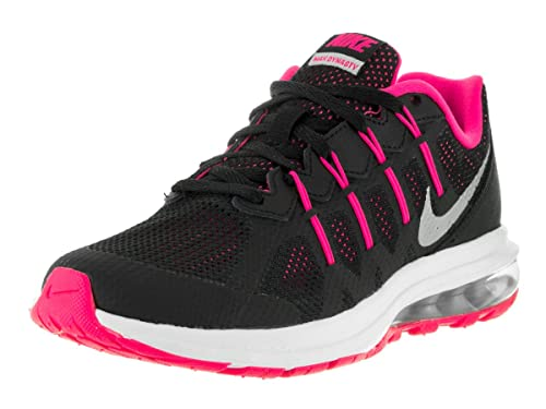 sale retailer e1067 fe851 Nike Kids Air Max Dynasty (GS) BlkMtllc Slvr Hypr Pnk WLF Gr Running Shoe  7 Kids US Buy Online at Low Prices in India - Amazon.in