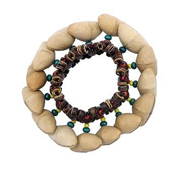 Yeshai3369 - Pulsera de Tuercas Tribales africanas con mancuerna ...