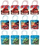 Angry Birds Red Alert! Goodie/Gift/Favor Bags 12 Pieces by Rovio