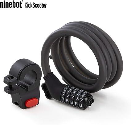 "Bicycle Lock 72/"" Cable Lock ~ Mounting Bracket ~ Keys ~ New"