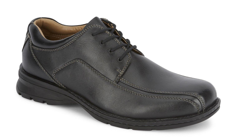 Dockers Men's Trustee Leather Dress Oxford Shoe, Black, 10.5 D(M) US