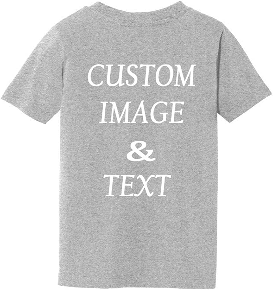 Personalized Baby Toddler T Shirt for Your Infant Baby Upload Photos Customize with Your Own Design Logos Or Type Any Text